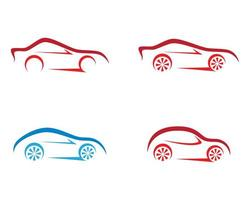 auto overzicht logo set