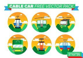 Kabelwagen Gratis Vector Pack