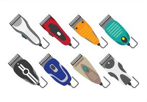 Hair Clipper-iconen vector