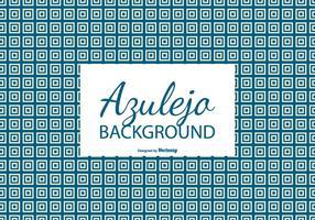 Vierkant Azulejo Tegel Achtergrond vector