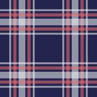 naadloze navy, roze geruite patroon vector