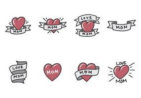 Mamma Tattoo Vectoren