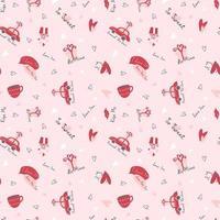 Valentijnsdag romantisch patroon