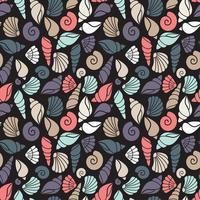 patroon met schelpen