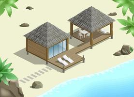 bungalow met zeezicht