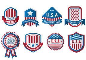 Gratis Presidentiële Seal Iconen Vector