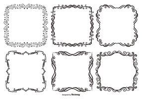 Decoratieve Vector Frames