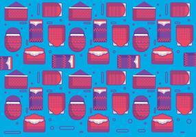 Rode Patroon Vector