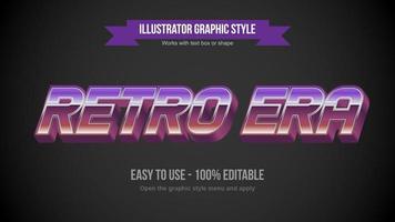 klassiek cursief chromen kleurovergang vintage stijl teksteffect