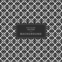 zwart-wit naadloze ruitpatroon