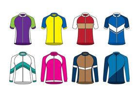 Raglan sport jersey vector