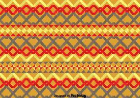 Geometrisch Etnisch Songketpatroon