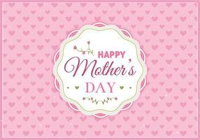 Gratis Vector Gelukkige Moms Dag Illustratie
