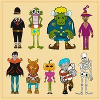 halloween monster collectie