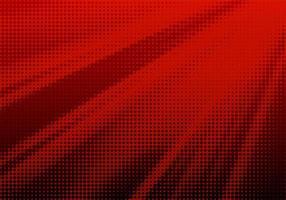 abstract rood halftone snelheidspatroon vector