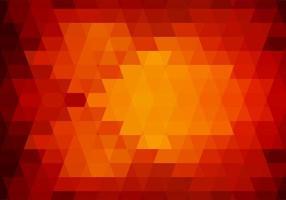 abstract oranje driehoek vormen achtergrond vector