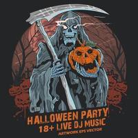 Magere Hein Halloween