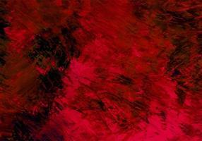 abstracte kastanjebruine penseelstreek, zwarte verf textuur achtergrond vector