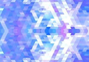 elegante blauwe, roze geometrische vormen achtergrond vector