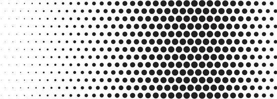 abstracte zwarte halftoon banner achtergrond vector