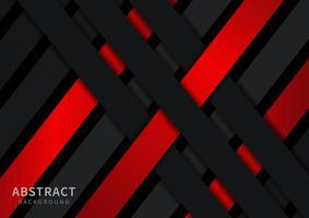 modern zwart en rood roosterpatroon