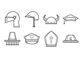 Gratis Hat Icon Vector
