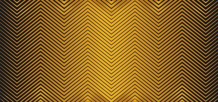 zigzag gouden metalen ontwerp