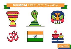 Mumbai Gratis Vector Pack