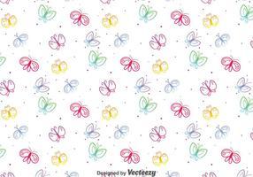 Kleurrijk Vlinderpatroon