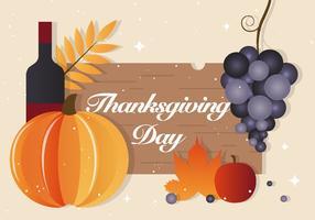 Gratis Thanksgiving Vector