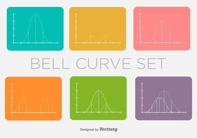 Bell Curve Vector Minimale Vormen