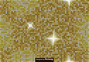 Vector Gouden Tegels - Luxe Vector Naadloos Patroon