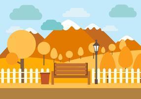 Gratis Vector Herfst Illustratie