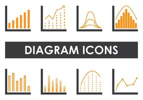 Diagram iconen
