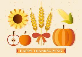 Thanksgiving planten en produceren