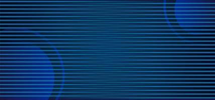 horizontale blauwe strepen over cirkels