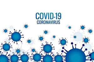 blauwe virusinfectie of bacteriële griepcellen vector