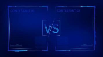 tech stijl vs uitdaging sjabloon
