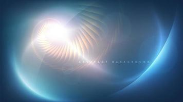 abstract swirl sjabloonontwerp