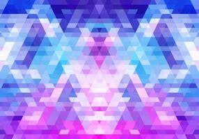 modern kleurrijk roze en blauw geometrisch vormenmozaïek
