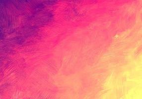abstracte kleurrijke zachte paars roze geel aquarel textuur vector