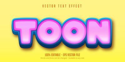 vet toon teksteffect