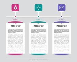 tijdlijn infographic banners met abstracte schermen vector