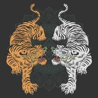 tijger tattoo ontwerp