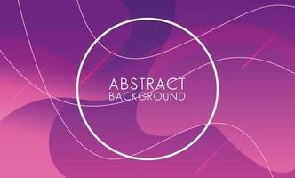 paarse vloeistof met cirkelvormige frame abstracte achtergrond
