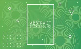 groene vloeistof met vierkante frame abstracte achtergrond