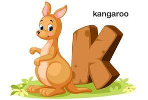 k voor kangoeroe