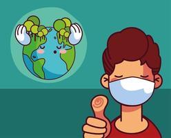 planeet aarde en de mens