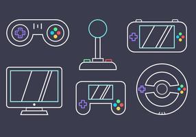 Gratis Video Game Vector
