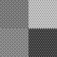 naadloze retro geometrische patronen